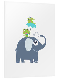 Forex  Frogs and elephant - Jaysanstudio