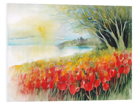 Eckard Funck - Tulips blossoms in Ueberlingen on Lake Constance