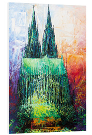 Renate Berghaus - Cologne Cathedral Abstract