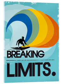 Stampa su vetro acrilico  Breaking limits. - 2ToastDesign