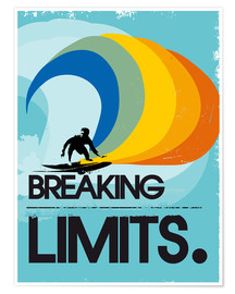 Poster Premium  Breaking limits. - 2ToastDesign