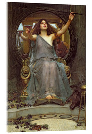 Stampa su vetro acrilico  Circe offre la coppa a Ulisse - John William Waterhouse