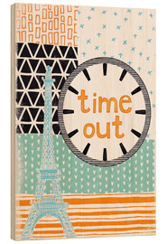 Stampa su legno  Time Out - Sybille Sterk