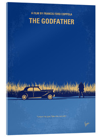 Vetro acrilico  My Godfather I minimal movie poster - chungkong