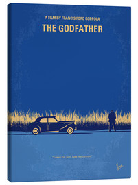 Tela  My Godfather I minimal movie poster - chungkong