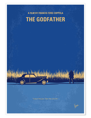 Poster Premium The Godfather