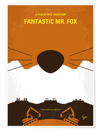 Poster Premium Fantastic Mr. Fox