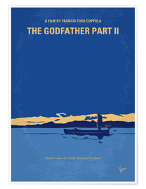 Poster  My Godfather II minimal movie poster - chungkong