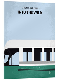 Vetro acrilico  No677 My Into the Wild minimal movie poster - chungkong