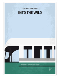 Poster  No677 My Into the Wild minimal movie poster - chungkong