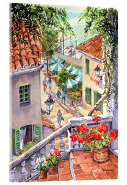 Vetro acrilico  Harbour Steps - Paul Simmons