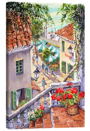 Stampa su tela  Harbour Steps - Paul Simmons
