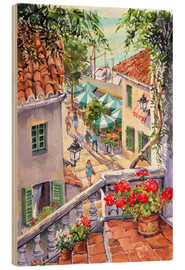 Stampa su legno  Harbour Steps - Paul Simmons