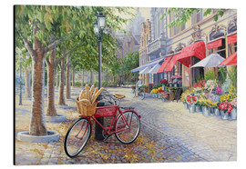 Stampa su alluminio  Bicyclettes a Bruges - Paul Simmons