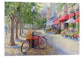 Stampa su schiuma dura  Bicyclettes a Bruges - Paul Simmons