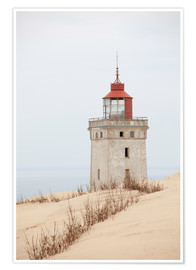 Poster  Lighthouse Rubjerg Knude
