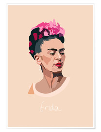 Poster Frida Portrait