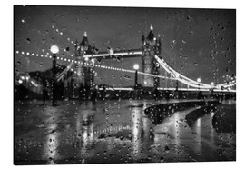 Stampa su alluminio  Tower Bridge Tears London - Alex Saberi