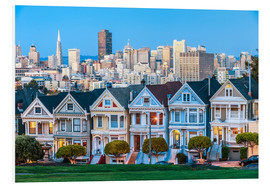 Stampa su PVC  The Painted Ladies, San Francisco