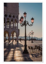 Poster Premium  St. Mark's Square in the morning