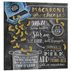 Alluminio Dibond  Macaroni and Cheese - Lily & Val