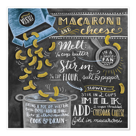 Poster Premium  Macaroni and Cheese - Lily & Val