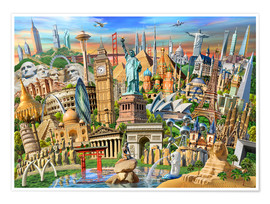 Poster World Landmarks Collection