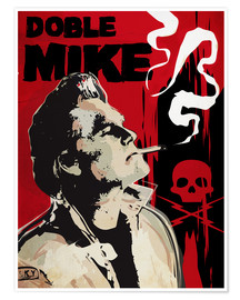 Poster alternative doble mike death proof art print