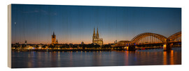 rclassen - Cologne at sunset panorama