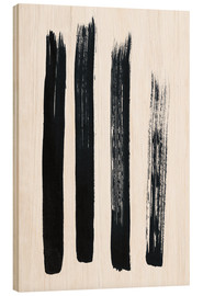 Legno  Abstract brush strokes