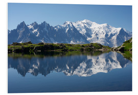 Forex  Lake with Mont Blanc massif