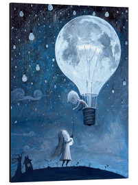 Alluminio Dibond  He gave me the brightest star - Adrian Borda