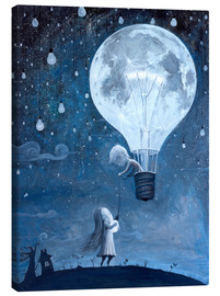 Tela  He gave me the brightest star - Adrian Borda
