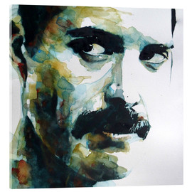 Stampa su vetro acrilico  Freddie Mercury - Paul Lovering Arts