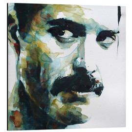 Alluminio Dibond  Freddie Mercury - Paul Paul Lovering Arts