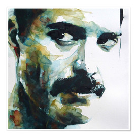Poster Premium  Freddie Mercury - Paul Lovering