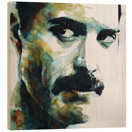 Stampa su legno  Freddie Mercury - Paul Lovering