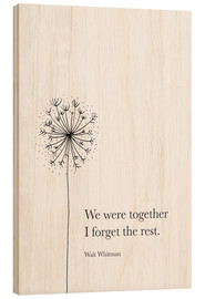 Legno  We were together - RNDMS