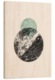 Stampa su legno  marble moons - RNDMS