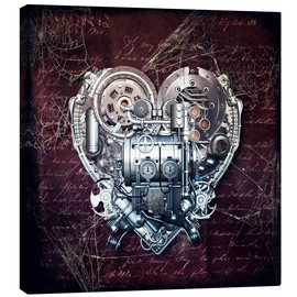 Stampa su tela  Old love does not rust - diuno