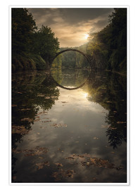 Poster Premium devil's bridge