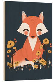 Legno  Animal friends - The fox - Kanzi Lue