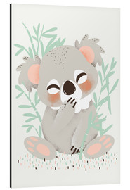 Alluminio Dibond  Animal friends - The koala - Kanzi Lue