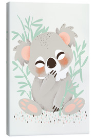 Tela  Animal friends - The koala - Kanzi Lue