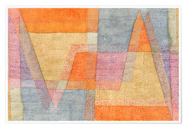 Poster Premium  Light and Sharpness - Paul Klee