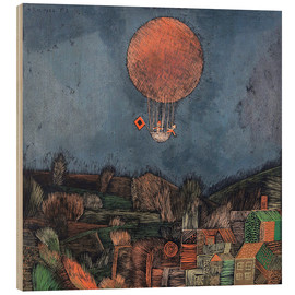 Legno  The balloon - Paul Klee