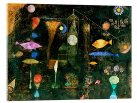 Vetro acrilico  fish magic - Paul Klee