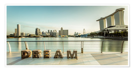 Poster  Dream Singapore - Sebastian Rost