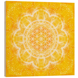 Legno  Flower of Life - Light Power - Dolphins DreamDesign