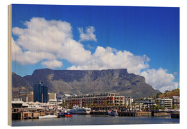 Stampa su legno  Lovely Cape Town, South Africa - wiw